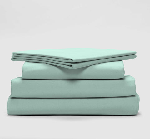 esuper sleep set | mint | bedface