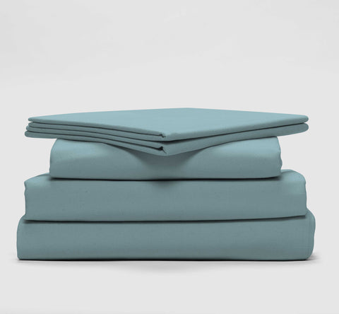 esuper sleep set | seabreeze teal | bedface