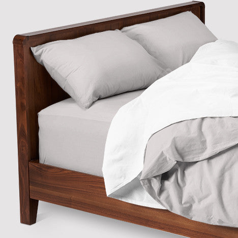esuper sleep set | overcast | wood bed | bedface