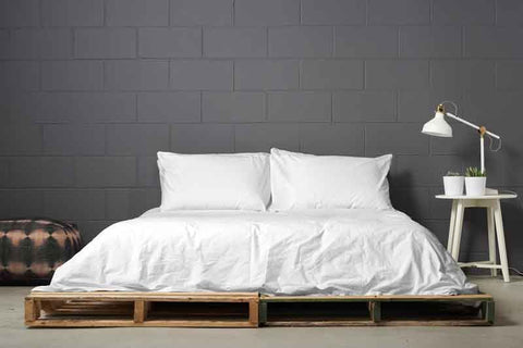 esleep set | seagull | pallet bed | bedface