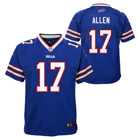 Youth Buffalo Bills Josh Allen Nike Game Team Jersey