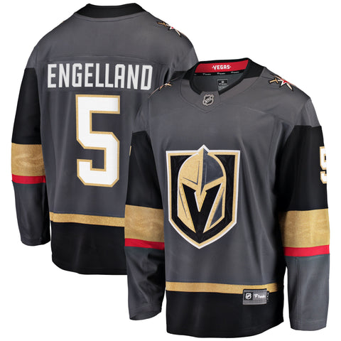 Deryk Engelland Vegas Golden Knights NHL Fanatics Breakaway Home Jersey