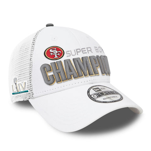 Men's San Francisco 49ers 2019 NFL Super Bowl LIV Champions Locker Room 9FORTY Cap