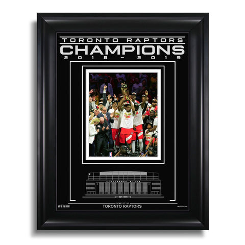 Toronto Raptors Engraved Framed Photo - 2019 NBA Champions