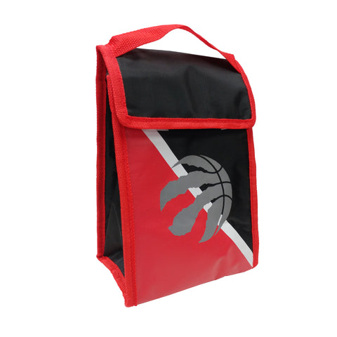 Toronto Raptors NBA 2-Tone Velcro Lunch Bag