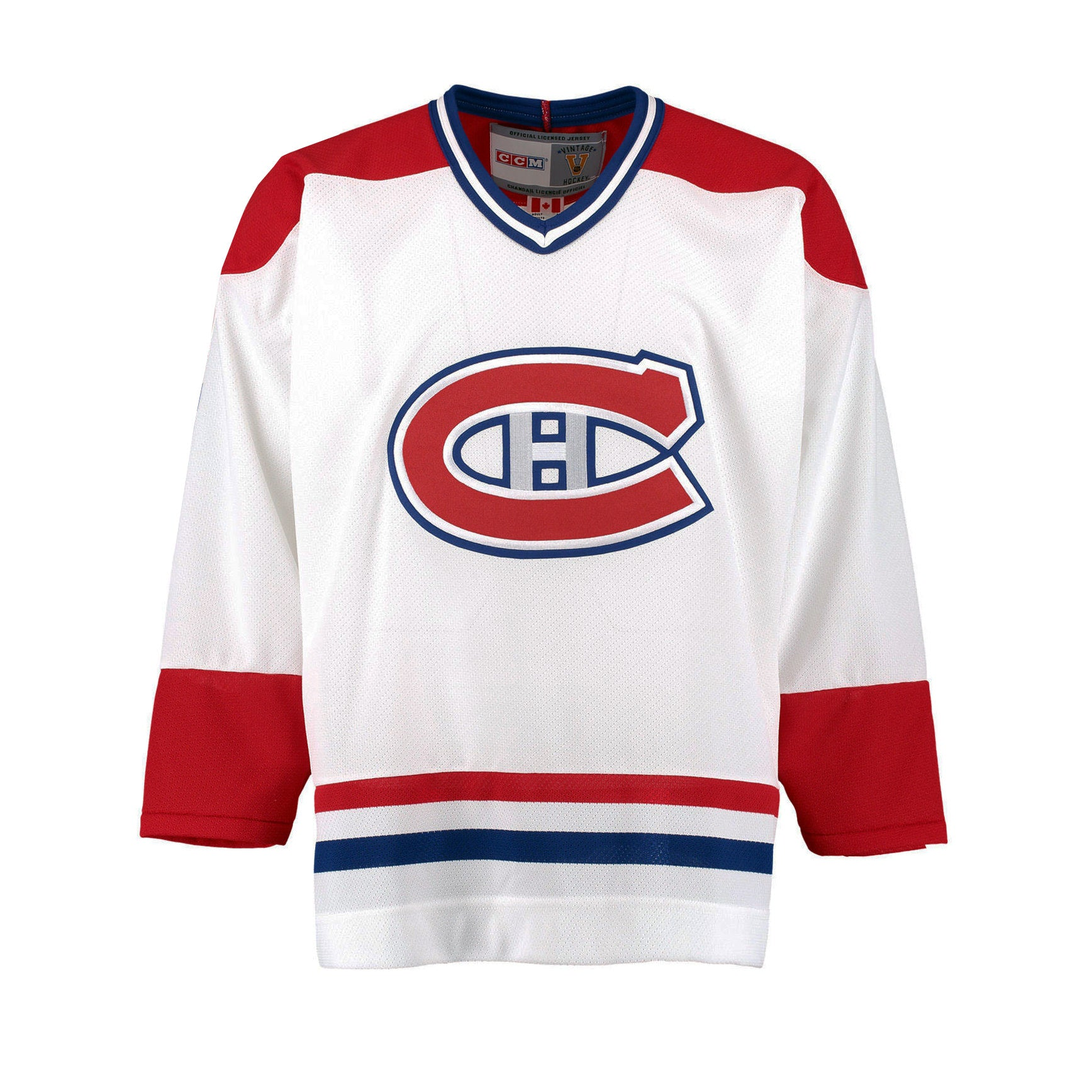 a8471ac7f Montreal Canadiens Vintage Replica White Jersey – Sport Army