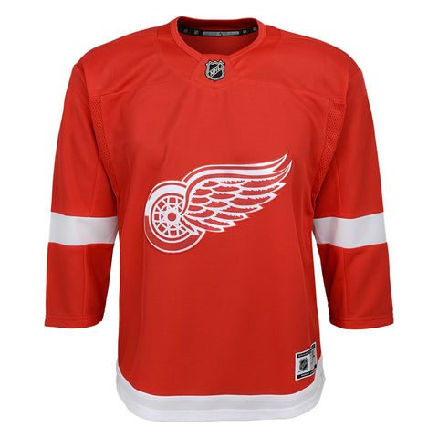 Youth Detroit Red Wings NHL Premier Home Team Jersey