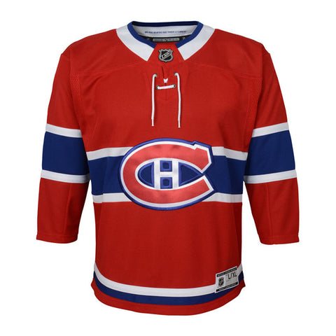 Youth Montreal Canadiens Premier Team Color Jersey