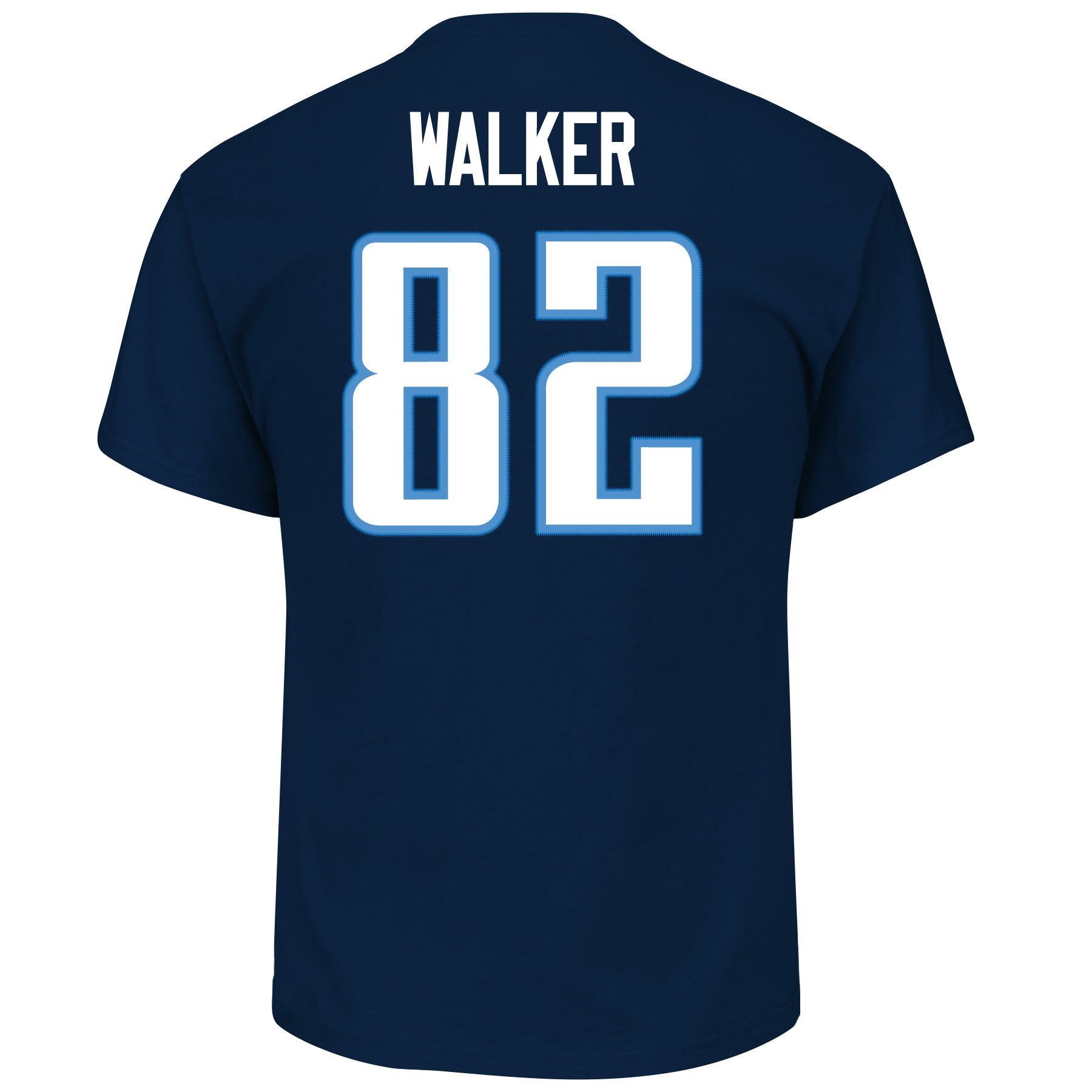 c550988261a2 Tennessee Titans Delanie Walker  82 Athletic Navy Eligible Receiver T- –  Sport Army