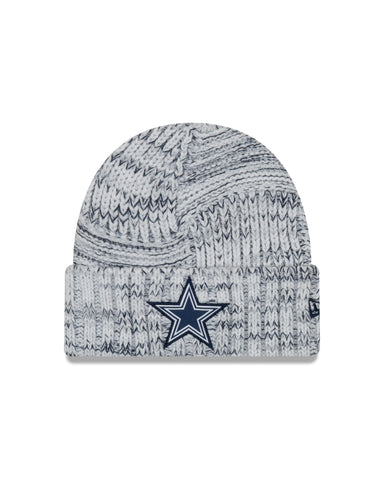 Ladies' Dallas Cowboys NFL New Era Sideline Team logo Cuffed Knit Toque