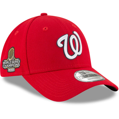 Men's Washington Nationals MLB 2019 World Series Champions Sidepatch 9FORTY Adjustable Cap