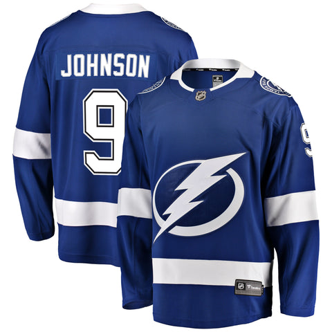 Tyler Johnson Tampa Bay Lightning NHL Fanatics Breakaway Home Jersey