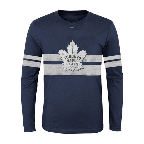 Youth Toronto Maple Leafs NHL Featured Classic Long Sleeve Crew