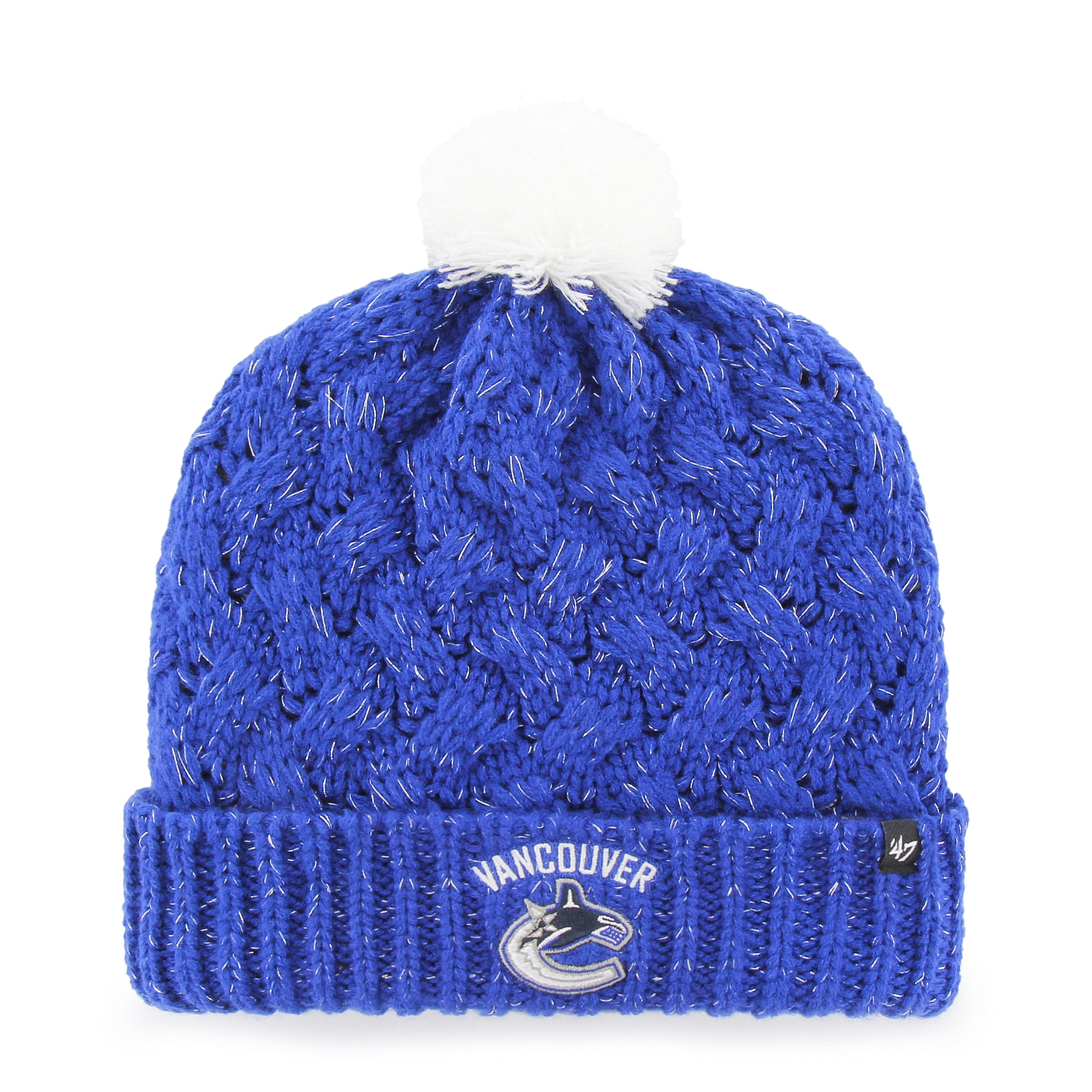 0e481fa16f3 Ladies  NHL Vancouver Canucks Fiona Cuff Knit Toque – Sport Army