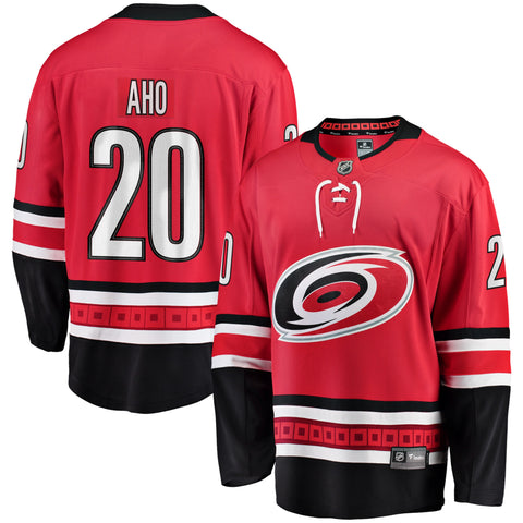 Sebastian Aho Carolina Hurricanes NHL Fanatics Breakaway Home Jersey