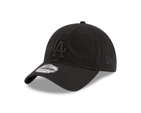 Men's Los Angeles Dodgers MLB Core Classic Tonal Black 9TWENTY Cap
