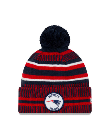 New England Patriots NFL New Era Sideline Home Official Cuffed Knit Toque