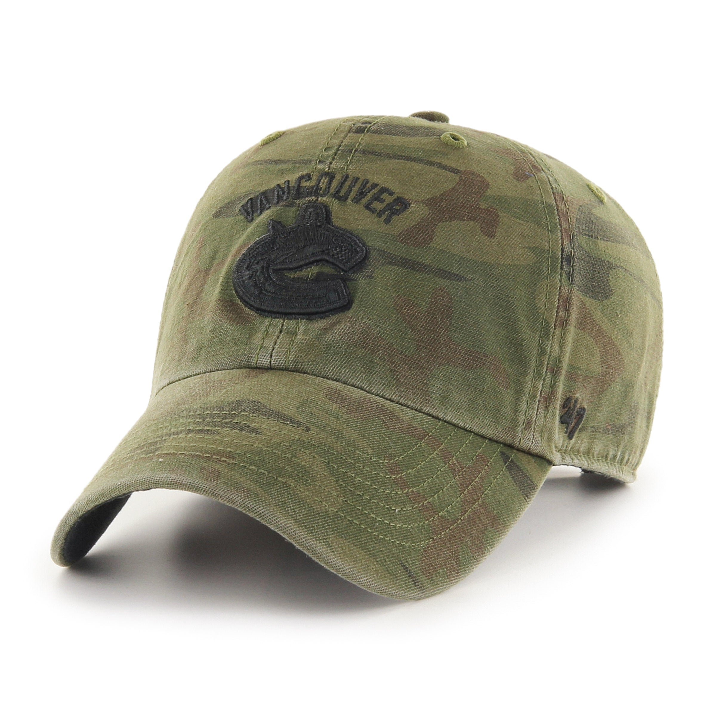 63d0937aa18 NHL Vancouver Canucks Regiment 47 Clean Up Cap – Sport Army
