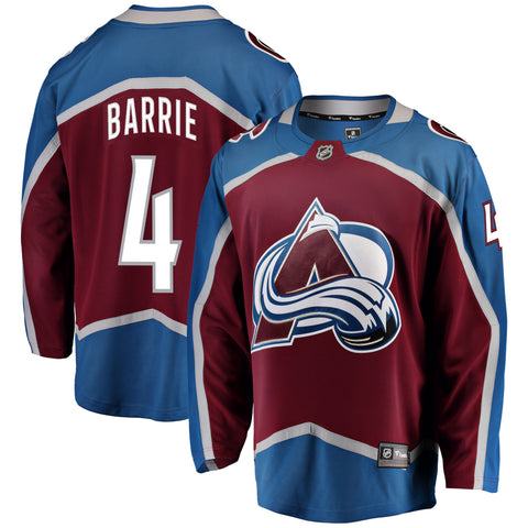 Tyson Barrie Colorado Avalanche NHL Fanatics Breakaway Home Jersey