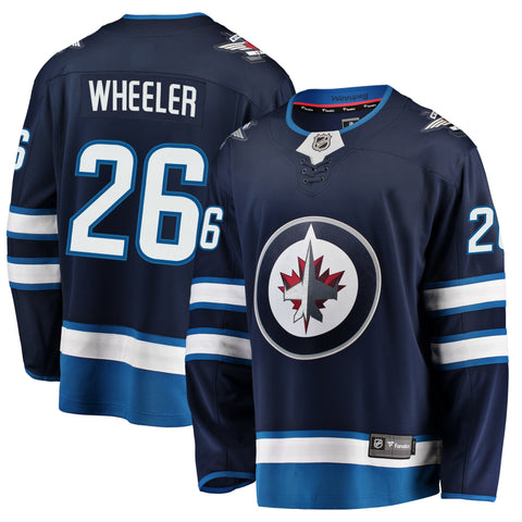 Blake Wheeler Winnipeg Jets NHL Fanatics Breakaway Home Jersey