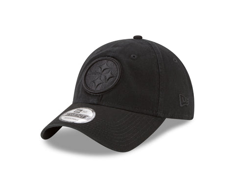 Men's Pittsburgh Steelers NFL Core Classic Tonal Black 9TWENTY Cap