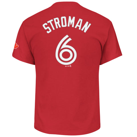 Toronto Blue Jays Marcus Stroman Red Player T-Shirt