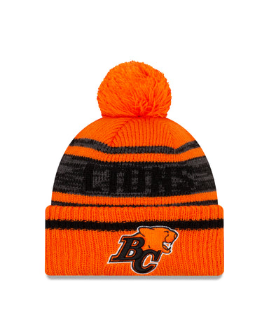 Men's BC Lions CFL On-Field Sport Knit Toque