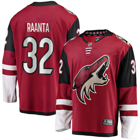 Antti Raanta Arizona Coyotes NHL Fanatics Breakaway Home Jersey