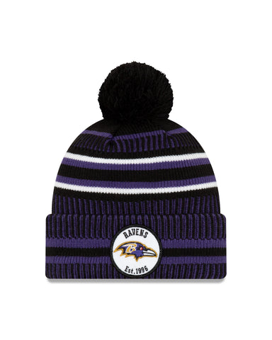 Baltimore Ravens NFL New Era Sideline Home Official Cuffed Knit Toque