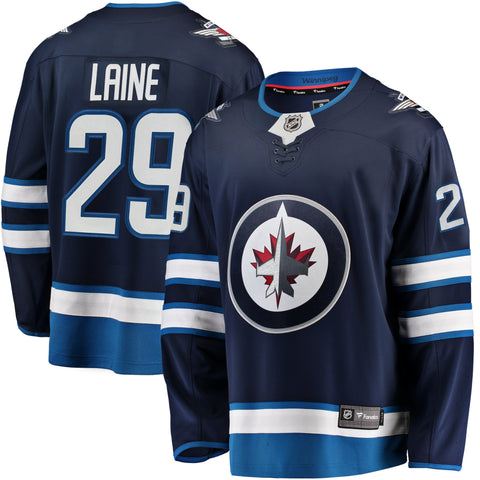 Patrik Laine Winnipeg Jets NHL Fanatics Breakaway Home Jersey
