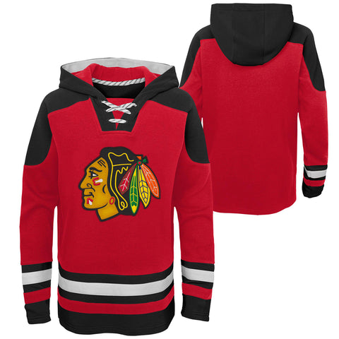 Youth Chicago Blackhawks NHL Ageless Must-Have Hockey Hoodie