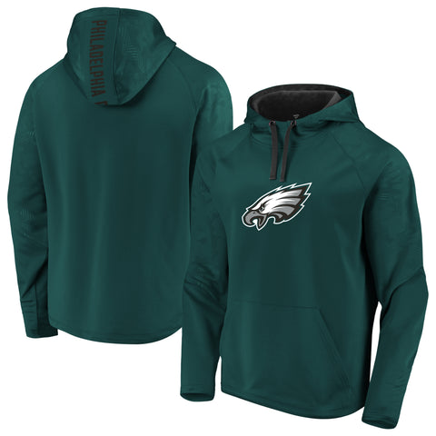 Philadelphia Eagles NFL Fanatics Defender Primary Logo Hoodie