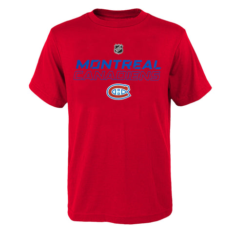Youth Montreal Canadiens NHL Prime Stock Short Sleeve Tee
