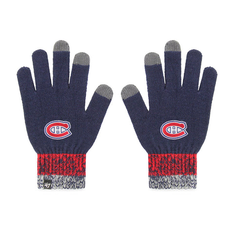 Montreal Canadiens NHL Static Gloves