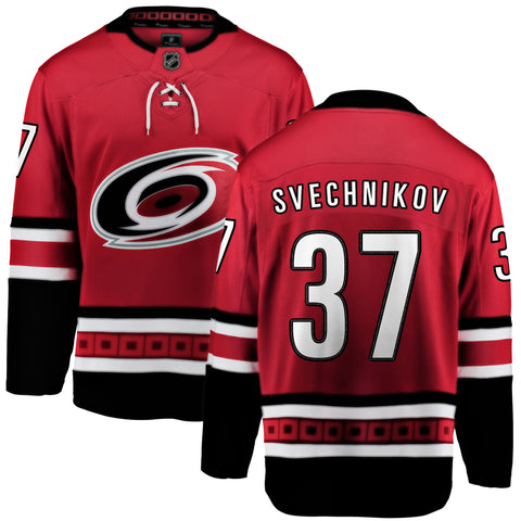 Andrei Svechnikov Carolina Hurricanes NHL Fanatics Breakaway Home Jersey