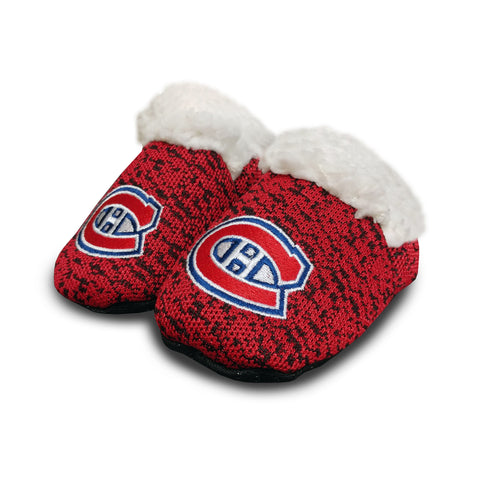 Montreal Canadiens NHL Infant PolyKnit Slippers