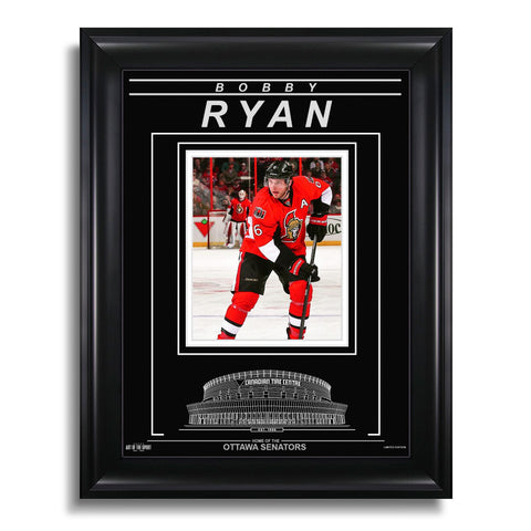 Bobby Ryan Ottawa Senators Engraved Framed Photo - Action