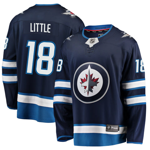 Bryan Little Winnipeg Jets NHL Fanatics Breakaway Home Jersey