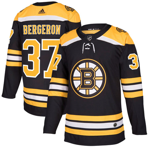 Boston Bruins Patrice Bergeron NHL Authentic Pro Home Jersey
