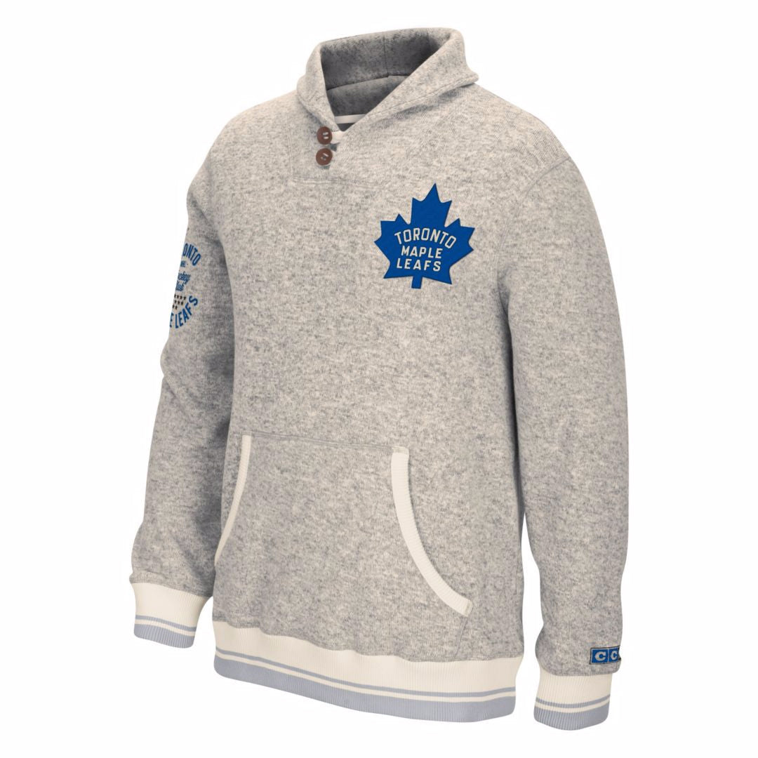 newest 42f36 171a2 Toronto Maple Leafs Popover Sweater
