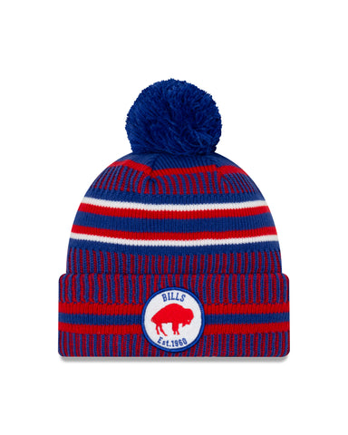 Buffalo Bills NFL New Era Sideline Home Official Alt Logo Cuffed Knit Toque