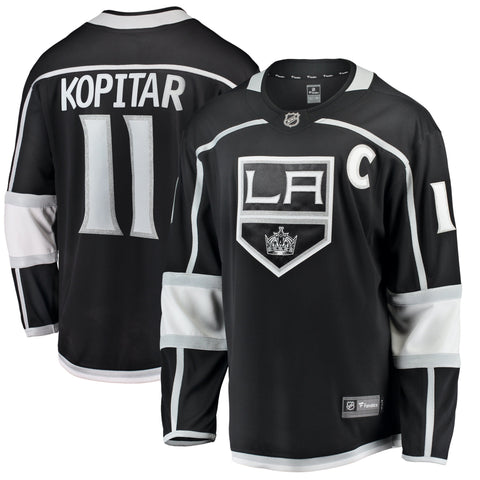 Anze Kopitar Los Angeles Kings NHL Fanatics Breakaway Home Jersey