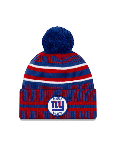 New York Giants NFL New Era Sideline Home Official Cuffed Knit Toque