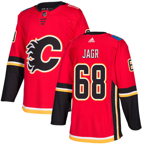 Calgary Flames Jaromir Jagr NHL Authentic Pro Home Jersey