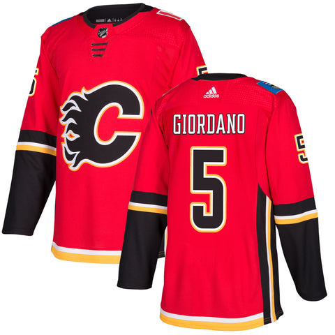 Calgary Flames Mark Giordano NHL Authentic Pro Home Jersey