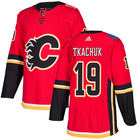 Calgary Flames Matthew Tkachuk NHL Authentic Pro Home Jersey