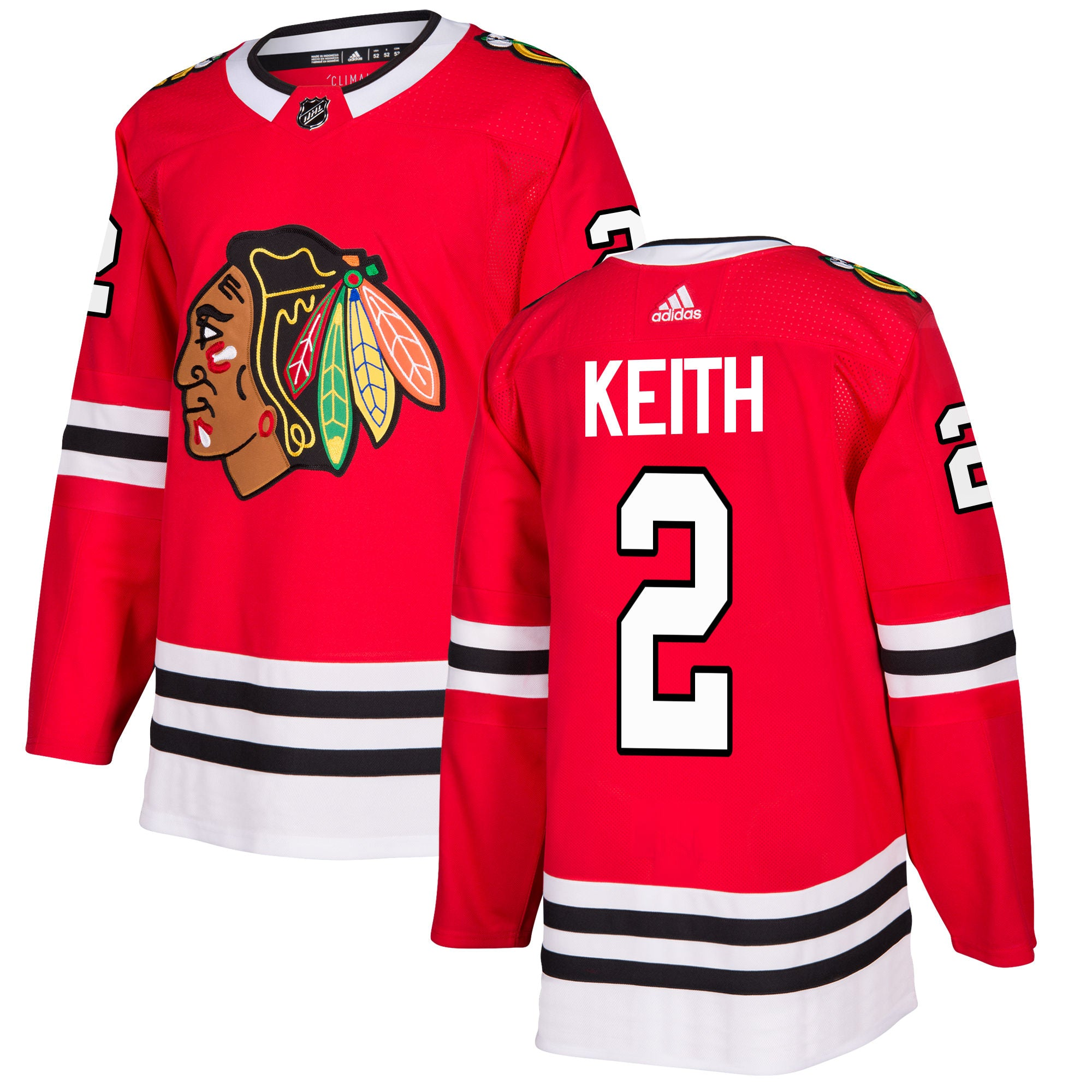 Chicago Blackhawks Duncan Keith NHL Authentic Pro Home Jersey – Sport Army c138d0032ca