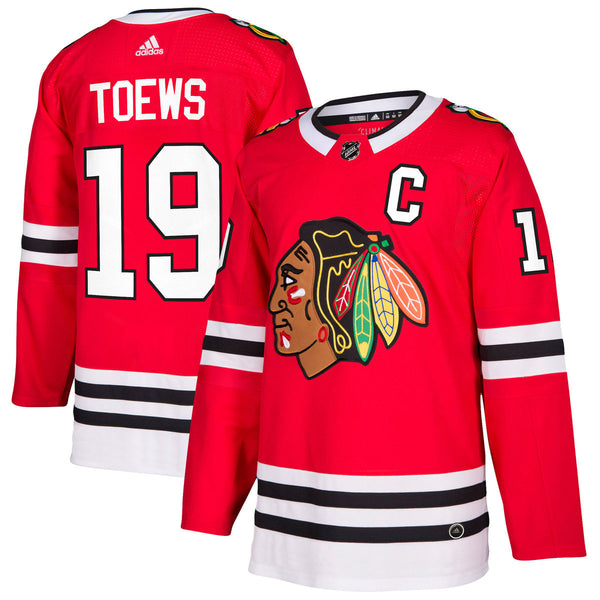 new concept 14d36 03b3f Chicago Blackhawks Jonathan Toews NHL Authentic Pro Home Jersey