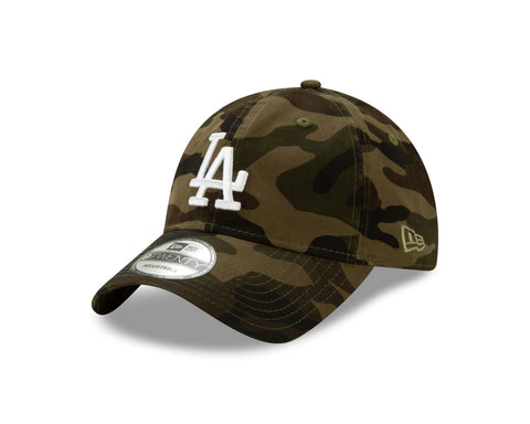Men's Los Angeles Dodgers MLB Core Classic Twill Camo 9TWENTY Cap