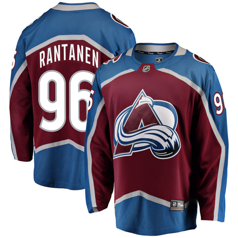 Mikko Rantanen Colorado Avalanche NHL Fanatics Breakaway Home Jersey